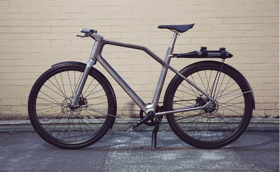 Solid Bike vélo connecté et imprimé en 3D