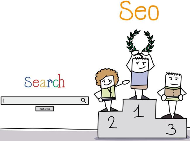 Création de contenu dans une stratégie de référencement
