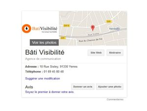knowledge graph referencement local