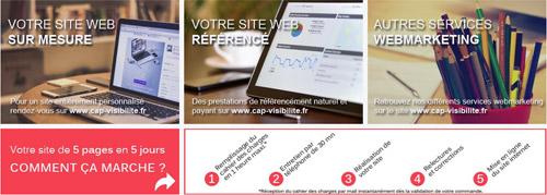 Plateforme e-commerce : TPE Cap Visiibilité